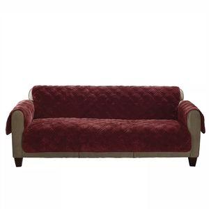Sure Fit Plush Comfort Furniture covet loveseat
